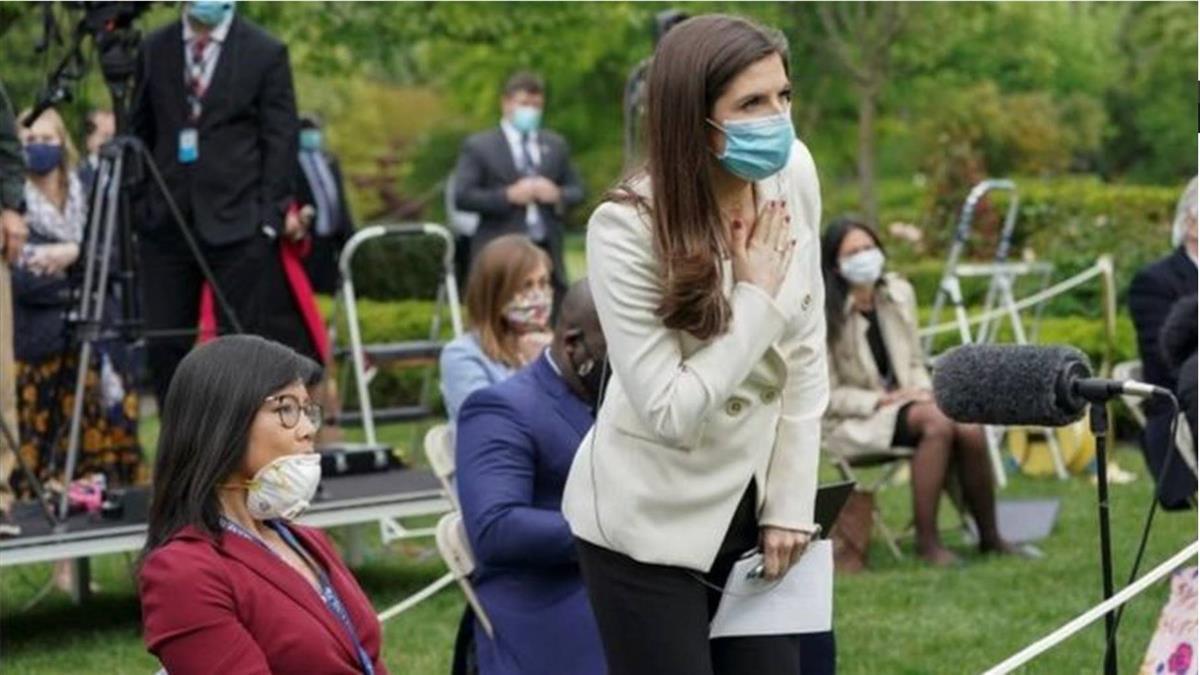 肺炎疫情:特朗普不滿疫情提問,讓CBS華裔女記者去「問中國」
