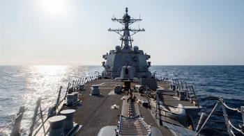 今年第6次!美軍驅逐艦正通過台灣海峽