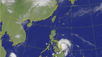 中颱黃蜂海警關鍵在周六 台灣高危險期曝光