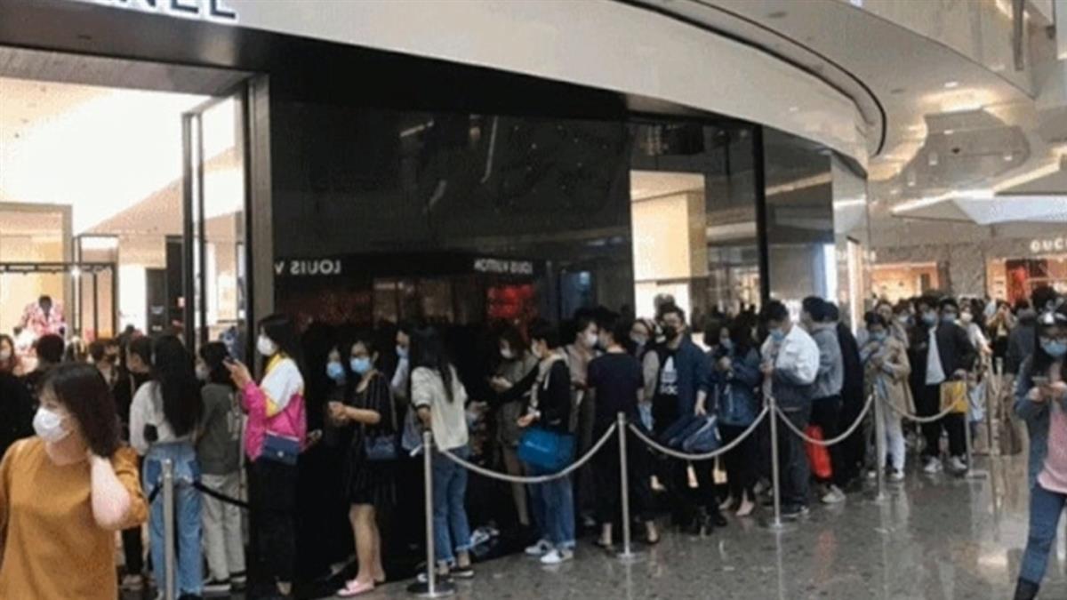 法知名精品預估漲17% 南韓、香港掀排隊搶購潮