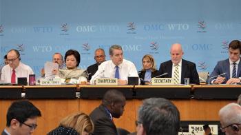 全球貿易面臨巨大壓力 WTO秘書長提早1年下台