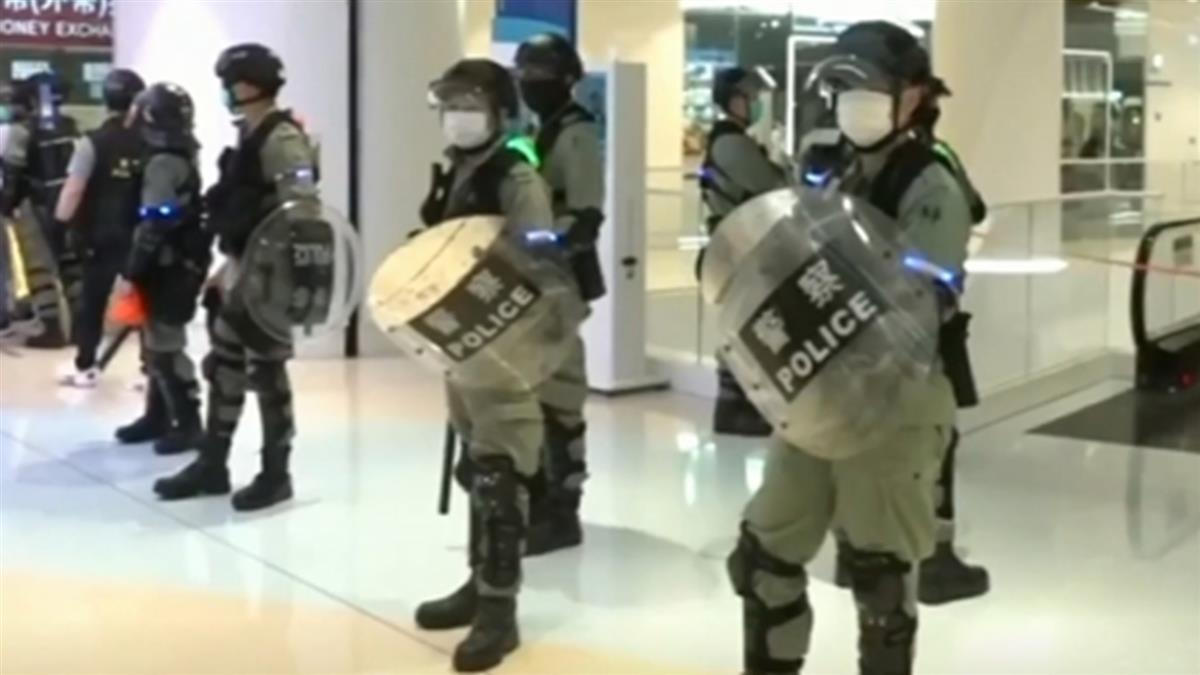 港反送中首名承認暴動罪被告  遭判刑4年