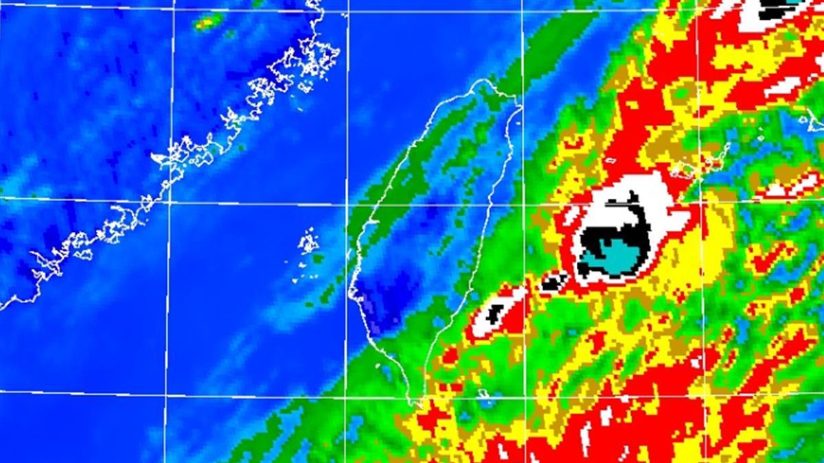輕颱黃蜂發海警 警戒區域曝光
