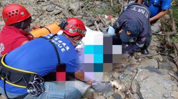 台北大學16人登山隊 21歲女大生墜50米深谷不治