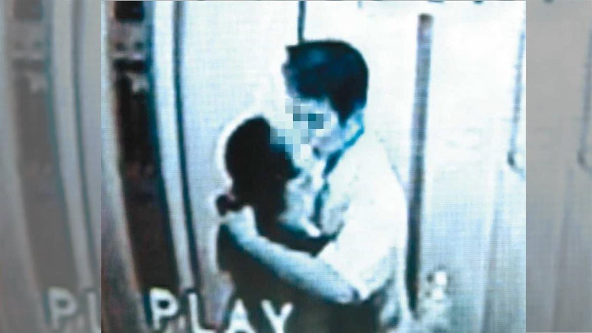 電梯內深情擁吻 竟成悲情夫妻最後同框畫面