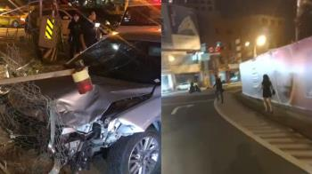 抓到了!台南轎車闖紅燈撞死單親媽 肇事男女到案