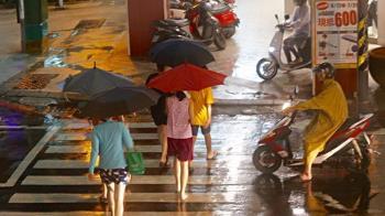 梅雨鋒面到!15縣市大雨、豪雨特報