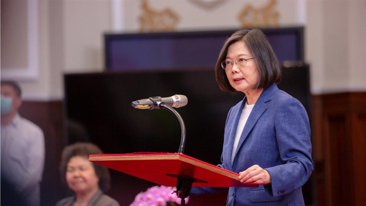 蔡總統就職  宣示立法院將成立修憲委員會