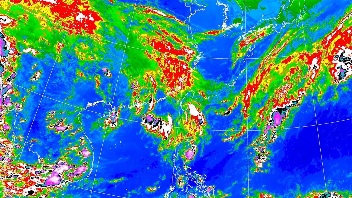 致災性降雨恐來襲!這3天最劇烈 全台降雨熱區出爐