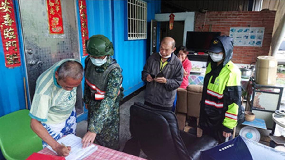 屏東雨量冠全台 山區撤離500多人