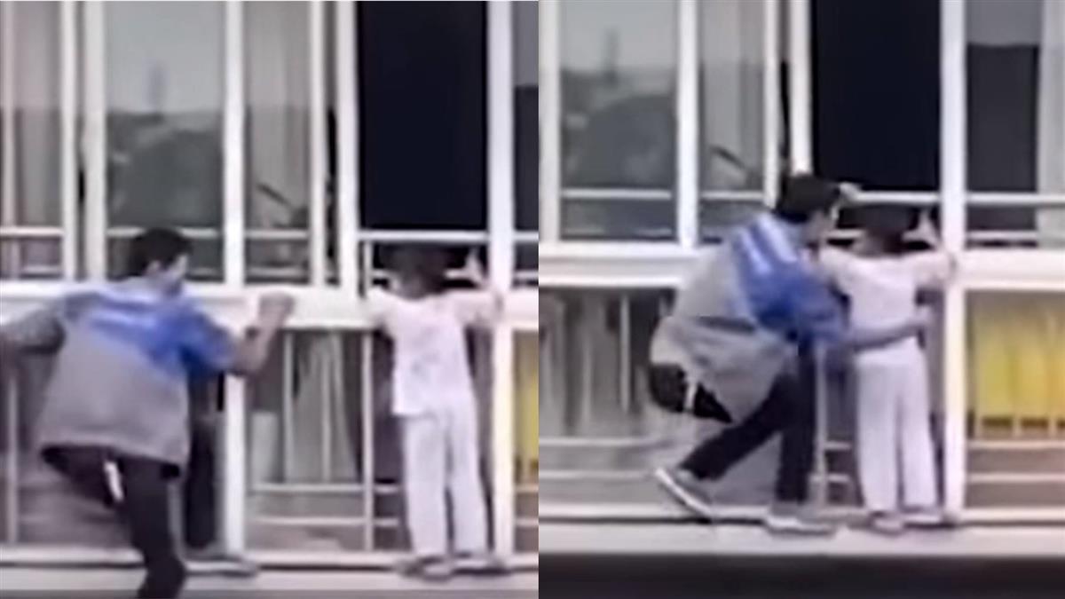女童受困!冷氣師傅徒手爬6樓救人 竟獲一棟房