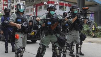 香港民眾上街抗議港版國安法 警方逮120人