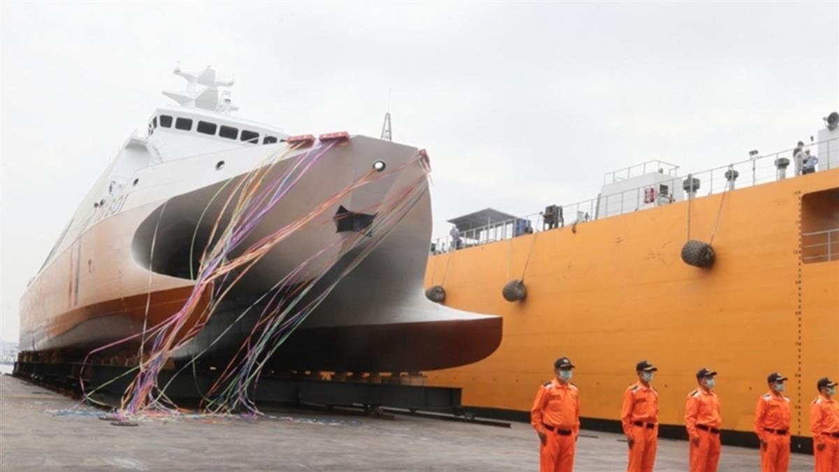 海巡署建4000噸巡防艦!首艦12月交船