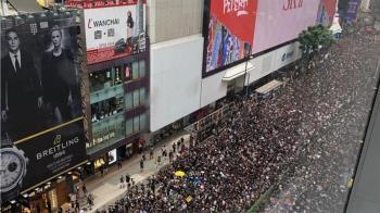 港人上街抗議港版國安法  醫管局:一女子命危