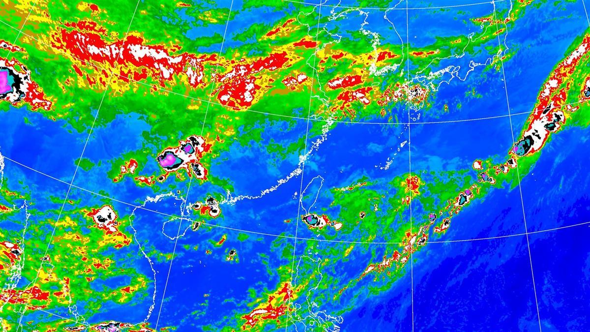 明晚鋒面到!連4天防劇烈天氣 雨勢最大時間曝