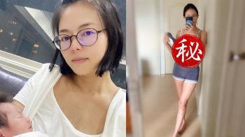 劉香慈生2胎 肚皮不見妊娠紋!真實身材超驚人