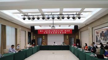 13名台灣代表出席人大!哽咽宣示:反台獨促統一