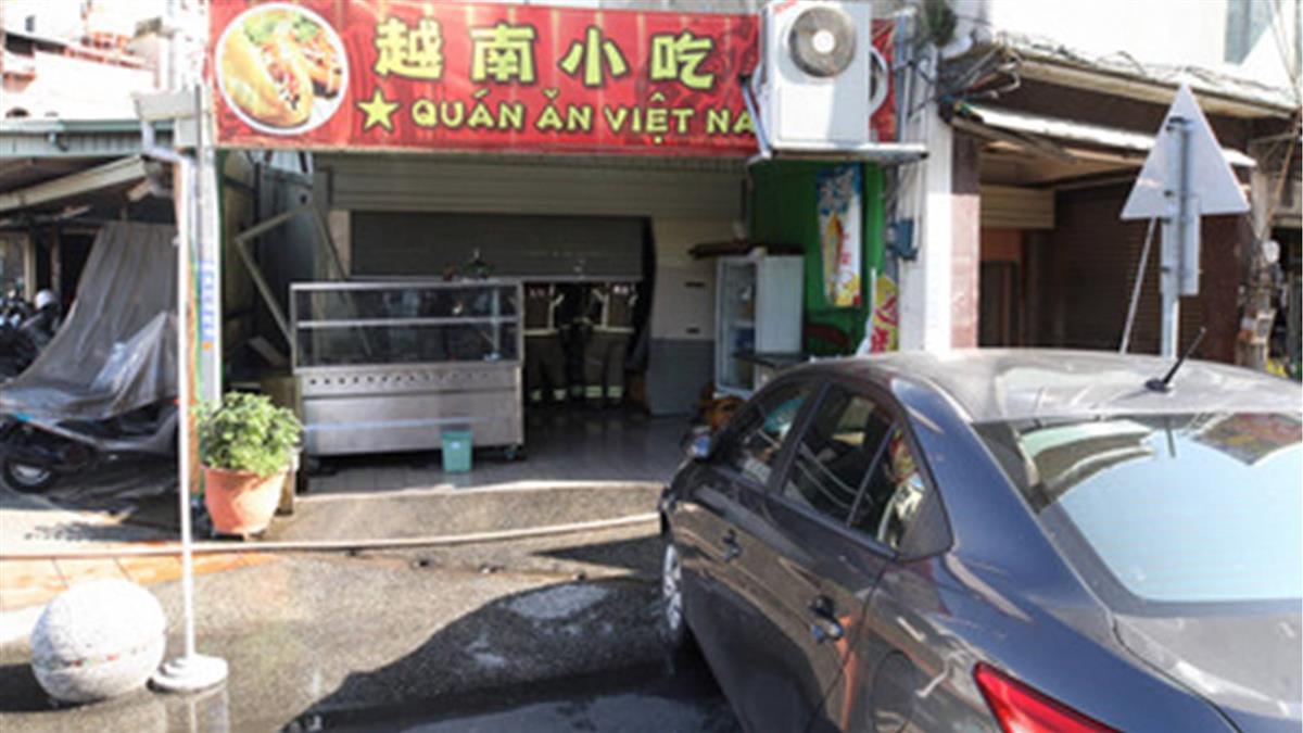 台南夫飛車撞小吃店灑汽油!亂刀砍到妻頭破血流
