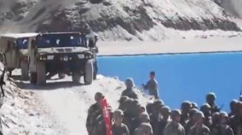 要開戰了?解放軍進駐中印邊境 對峙畫面流出