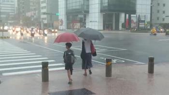 上半天最劇烈!15縣市豪、大雨特報 高屏淹水警戒