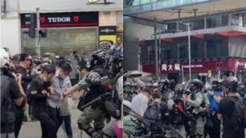 香港《國安法》:中國駐港部隊司令強硬表態「維穩」