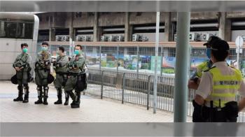 香港立法會審國歌法網友發起抗議 數千警嚴陣以待