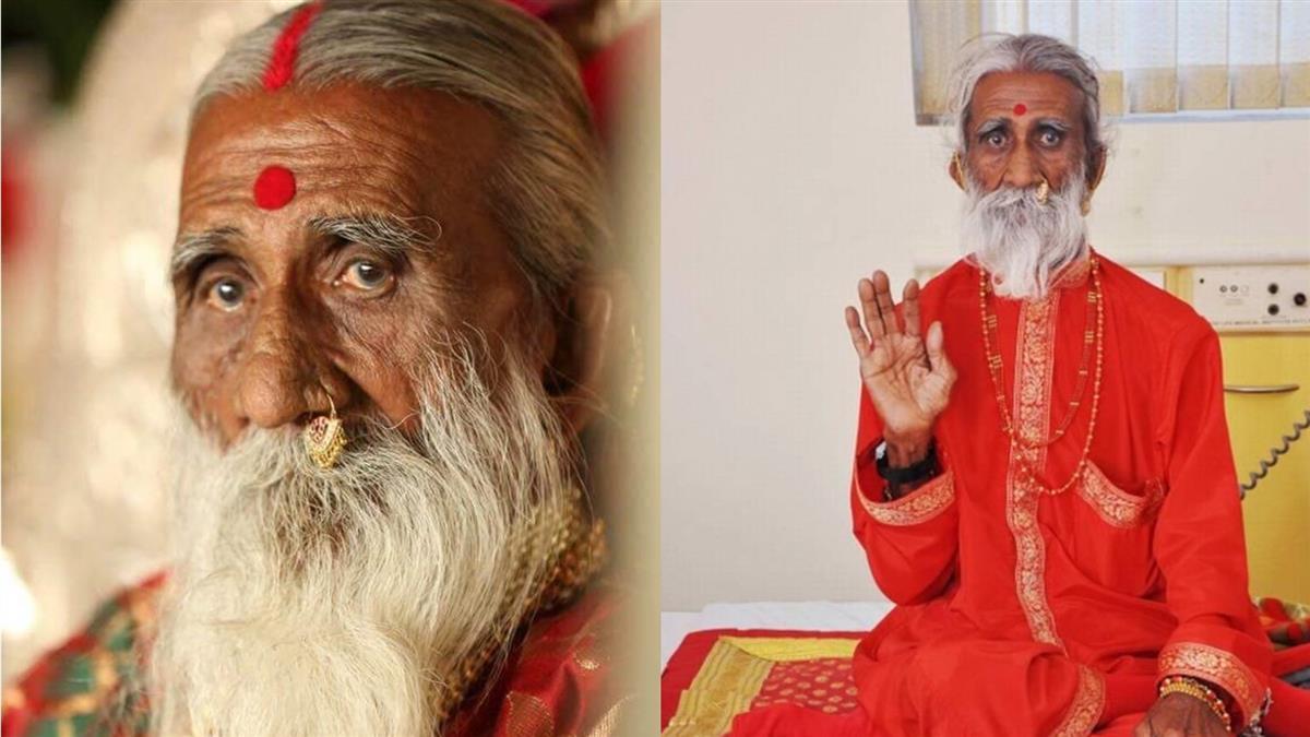 印度神人8歲被灌不死藥 靠空氣活到91歲