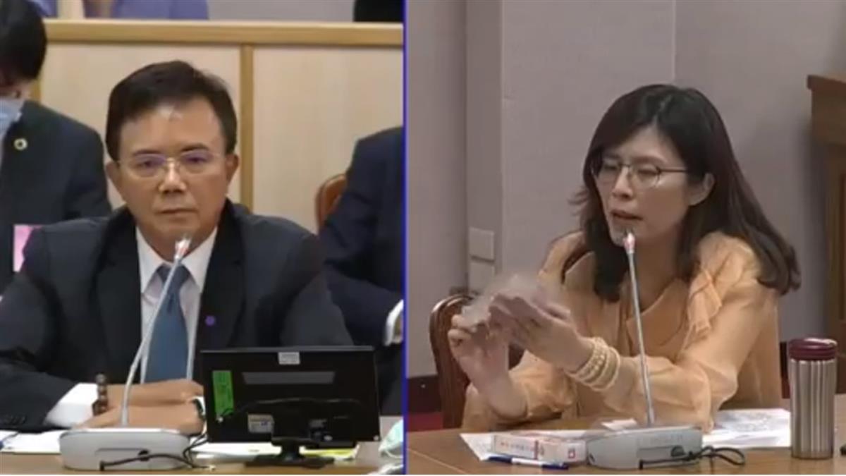 藍議員告發  控罷韓團體送乾洗手隨身瓶涉賄選