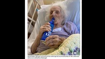 103歲紅襪狂粉戰勝武肺!出院首件事...來瓶冰啤酒