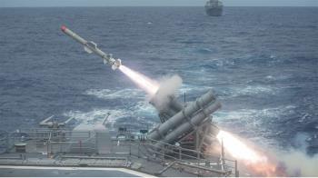 國防部證實規劃採購陸基機動型魚叉飛彈