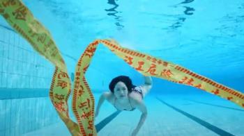 Janet與大霈拍公益短片 邀民眾齊力淨灘救海洋