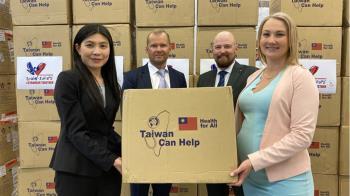 台灣捐贈20萬片口罩 芬蘭醫院表達感謝