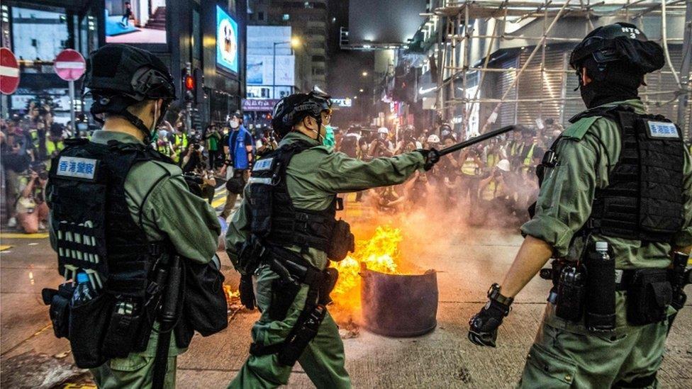 英美澳加發表聯合聲明 譴責北京推香港《國安法》