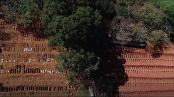 巴西逾2.6萬人染疫亡 公墓急挖新墓穴 棺木「排隊」下葬