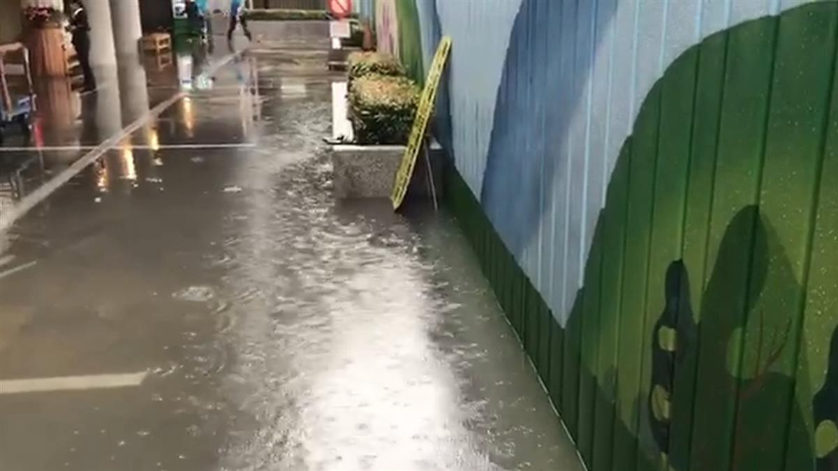 豪雨狂下!北市二殯積水…遺體卡B1上不來