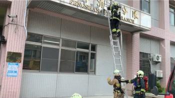 高市消防員攀爬訓練重摔 脊椎骨折送醫