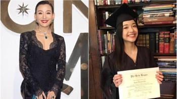 影后驕傲學霸女兒哈佛畢業 網友翻22年前棄養雙胞胎舊帳