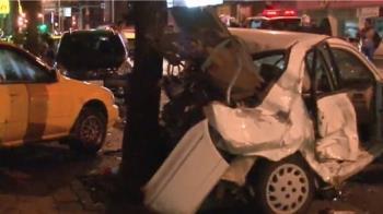 台中男酒駕載2妹!追撞釀1死2傷 目擊者:車上有毒品味