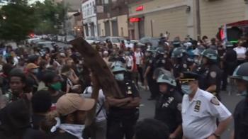 非裔男遭警壓死!全美示威延燒 洛杉磯等大城宣布宵禁