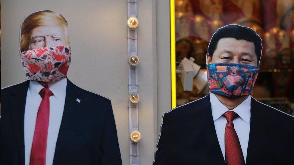 從香港到華為:美中「新冷戰」四大戰場 雙方頻交惡都為哪般
