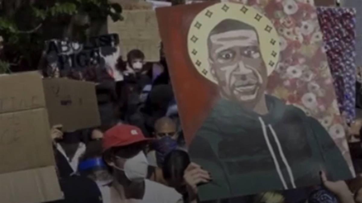 美警暴力害死非裔引民憤 抗議潮延燒英德加等地