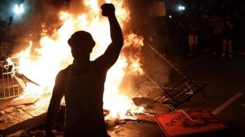 佛洛伊德之死引發美國示威加劇,BBC記者經歷的華盛頓宵禁夜