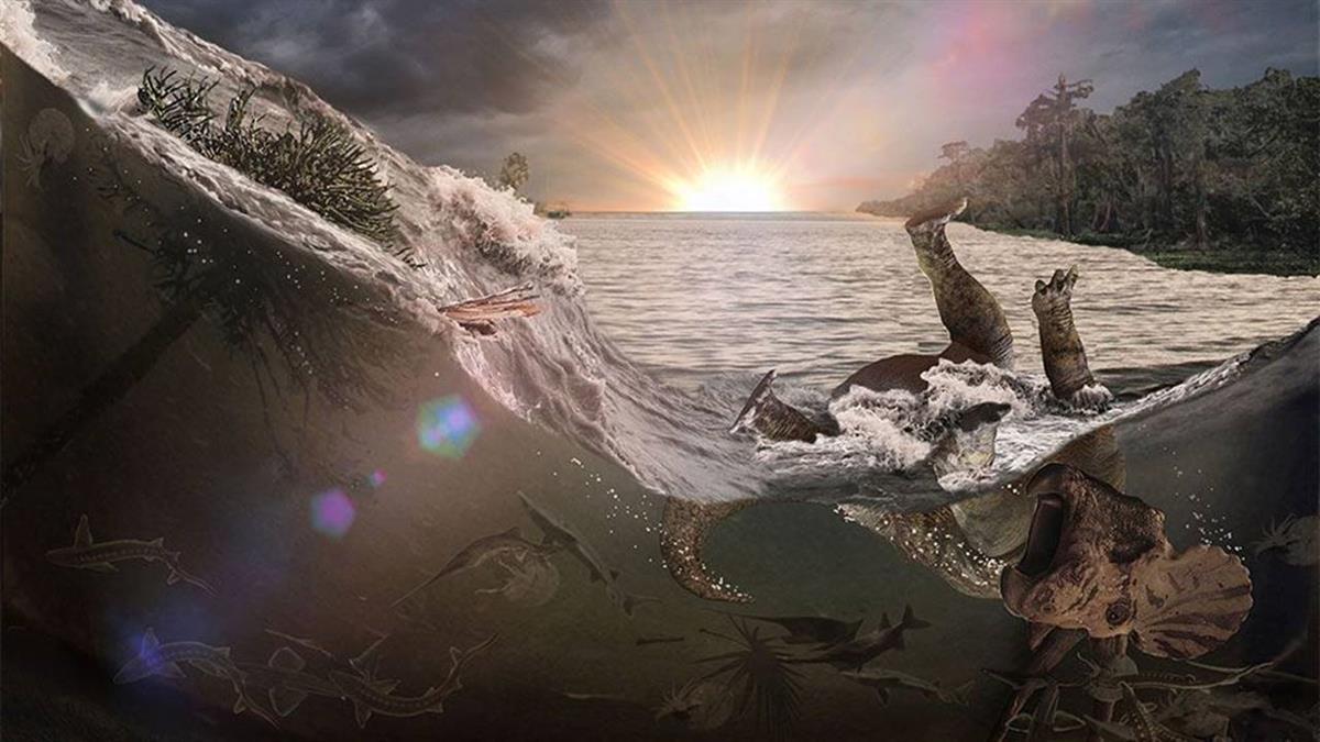 恐龍滅頂之災的三大要素:隕星撞地的時間、地點和角度