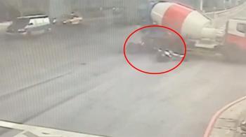 還我兒子!重機情侶遭撞死 母親見司機崩潰哭吼