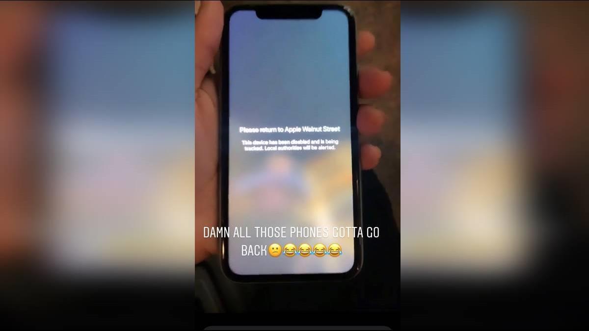 他趁亂洗劫門市 偷的iPhone全變磚 還遭警告快歸還!