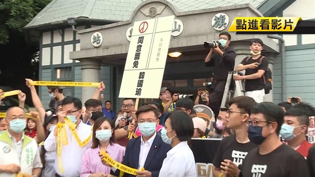 罷韓發起人未收到通知單 尹立質疑非單一個案