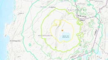 智利北部規模6.8強震 尚未傳出災損傷亡