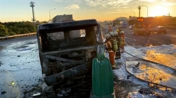 無照開友車!16歲少女失控撞槽罐車 起火釀2傷