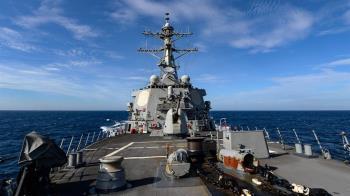 六四31週年!美軍艦通過台灣海峽