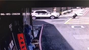 休旅車拒攔查衝撞警逃逸 員警遭撞輾重傷
